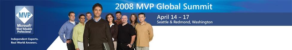 2008 Microsoft MVP summit