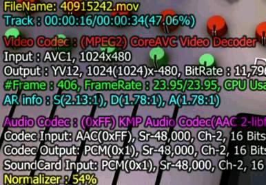 H.264 MKV 부드럽게 보자 - CoreAVC 코덱 설정으로 x264 MKV AVI MOV 성능 향상
