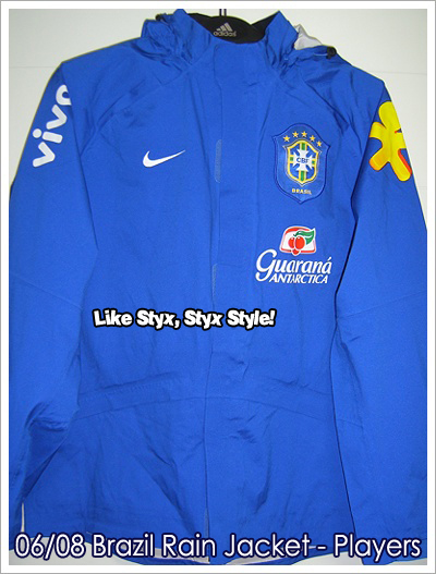 06/08 Brazil Rain Jacket - Players