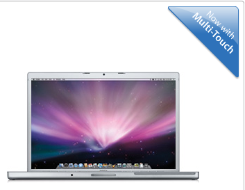 MacBook Pro. Now with MULTI-TOUCH !!!