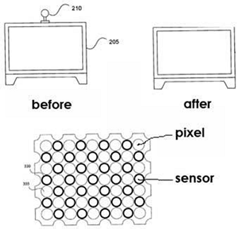 Apple Patent - Integrated Sensing Display
