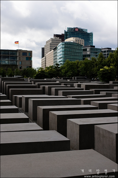 유럽의 유대인 학살 기억 조형물 (The Memorial to the Murdered Jews of Europe)