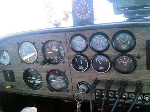 초경량비행기 STOL기 : CH-701 계기판 명칭