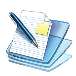 Windows Vista Write Icon