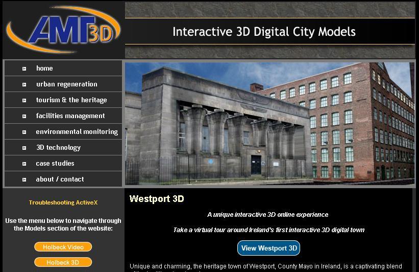 AMD3D 3차원 디지털도시
